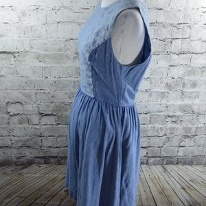 Altar'd State Dresses - Altar'd State Dig It Denim Chambray Dress